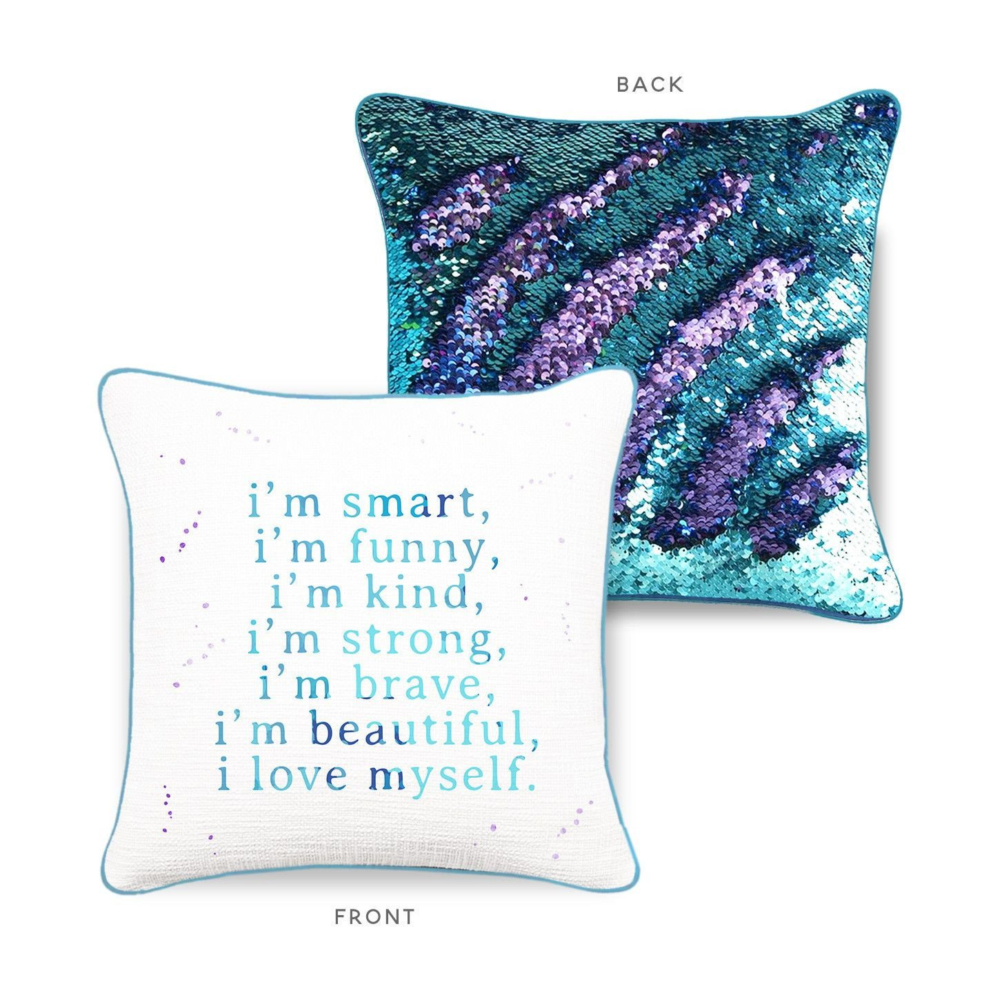 mermaid pillow co. pillow pic